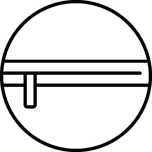 Symbol Vordertasche