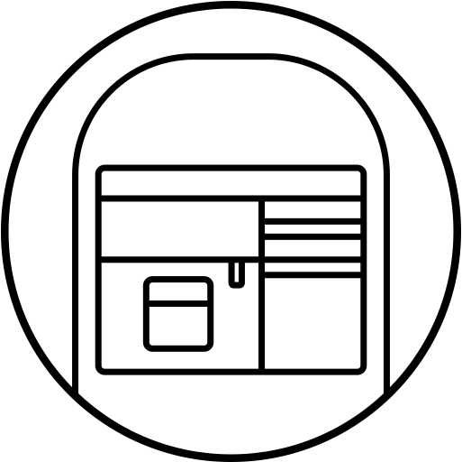 side pocket feature icon