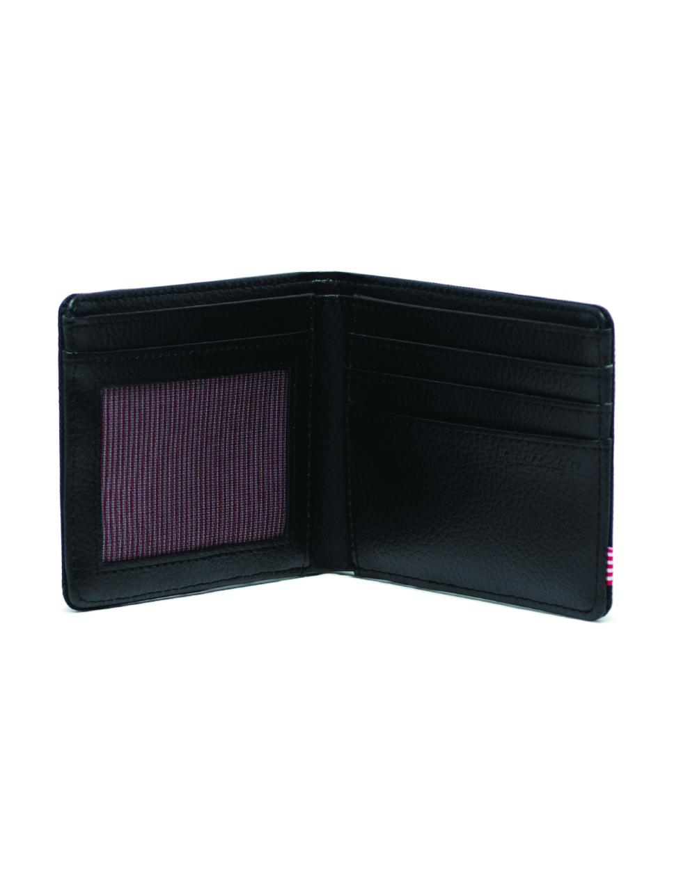 Image of a Black Herschel Hank Wallet