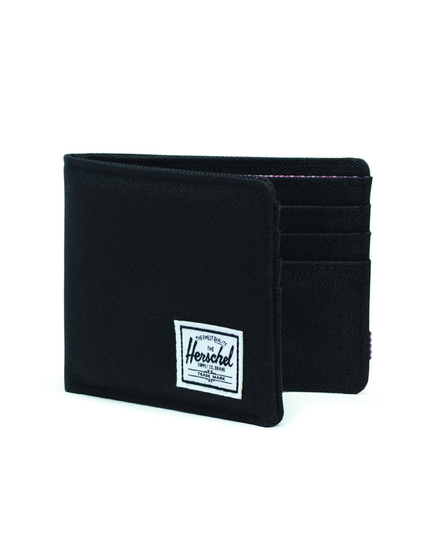 Image of a Black Herschel Roy Wallet