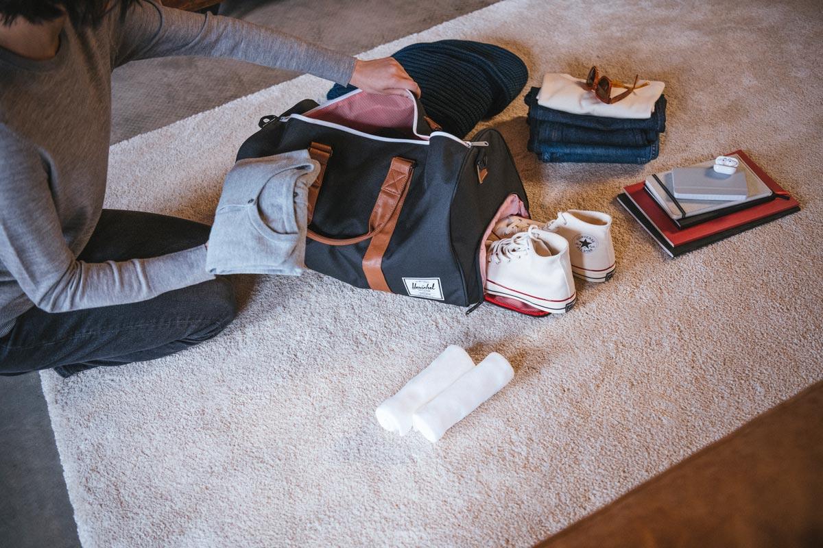 Charakteristisches Schuhfach